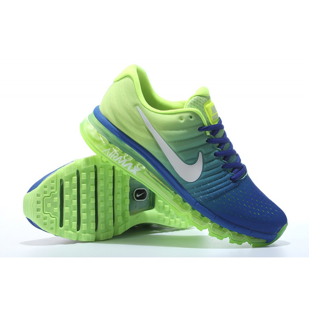 Sale Nike Airmax 2017 Royal BlueWhite Running Shoes