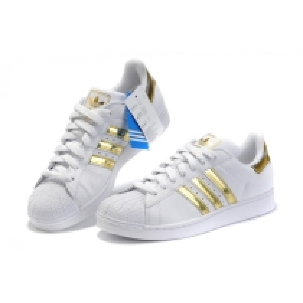 Buy Adidas Superstar Sneaker Golden White : Shop Online At Shoppinglala.com