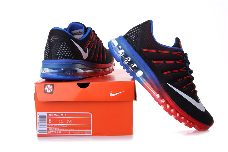 b3fbf8c217 Nike Air Max 2016 Black Blue: Shop Online at Shoppinglala.com