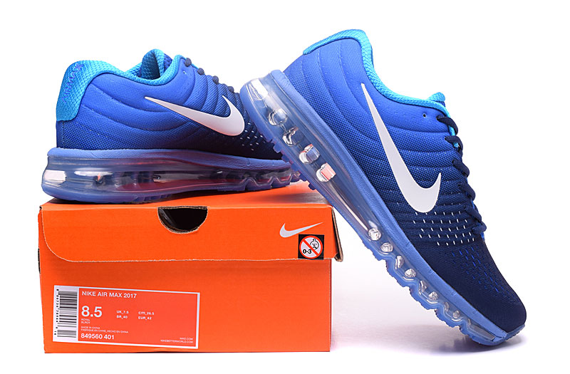a9cd9ca788 Nike Airmax 2017 Blue Running Shoes : Shop Online At Shoppinglala.com